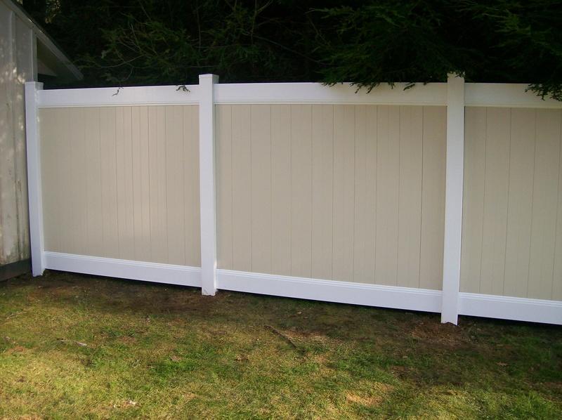 Ny pricaacy vinyl fence wholesale gate
